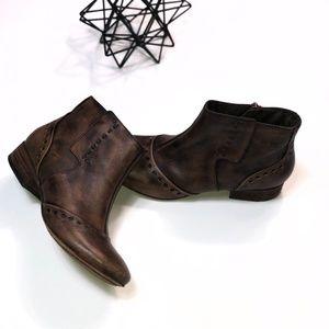 Boho Eastland Leather Booties (6)